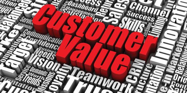 ارزش مشتری , ارزش پیشنهادی , راهبرد بازاریابی , ادراک مشتری , مزیت رقابتی